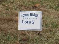 Lot 5  Lynn Ridge  Estates Lynnville IN, 47619