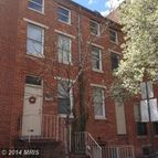 821 Lombard Street West Baltimore MD, 21201